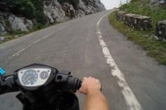 Biking around Cat Ba